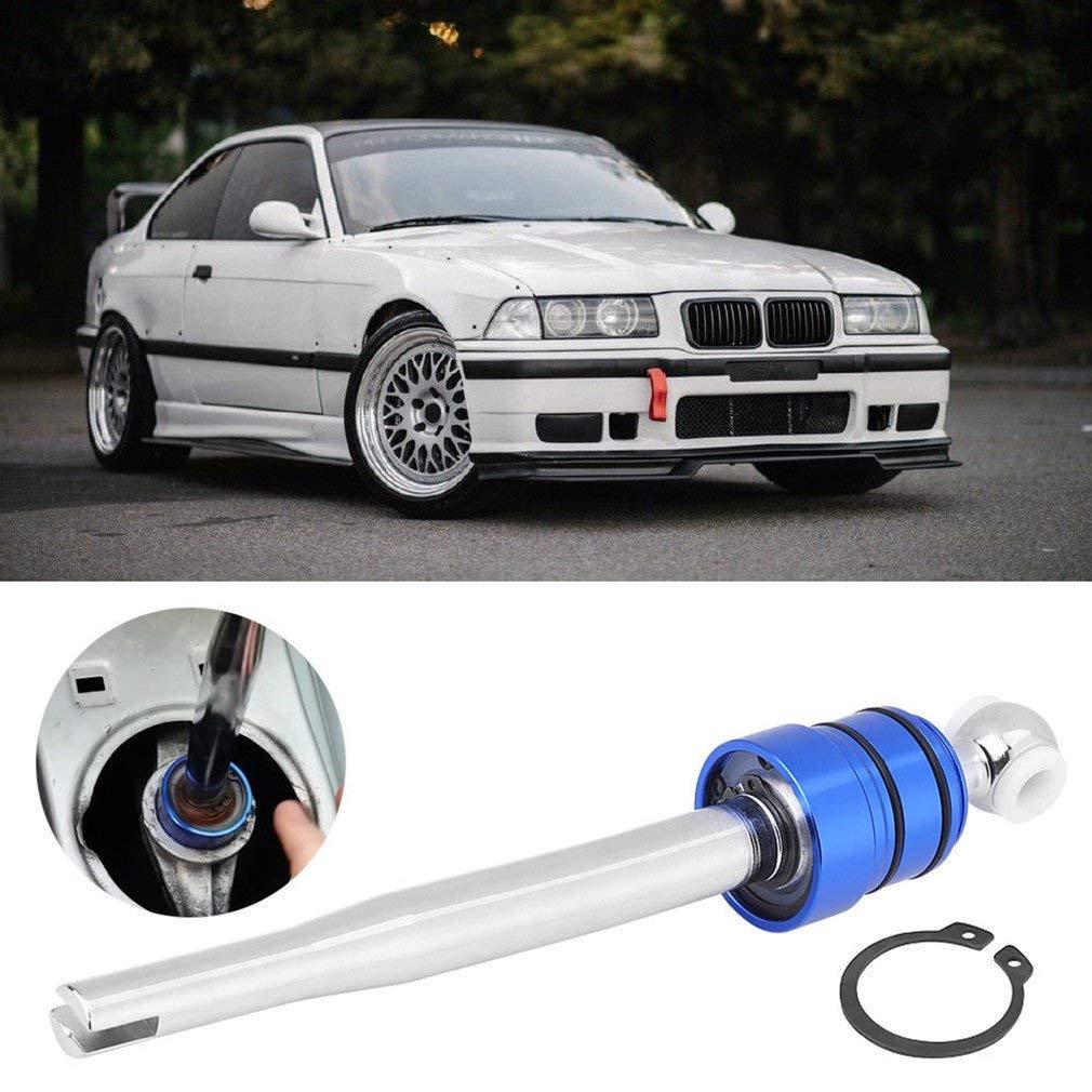 leoboone Quick Shift corto alcance Shifter Shifter aluminio recubierto en forma para BMW E30 E36 E39 E46 M3 M5 3//5 Serie Auto Accesorios para el coche
