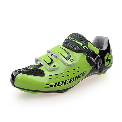 Bicicleta de Carretera Zapatos Hombres de la de Carreras de Zapatillas de Ciclismo para, niña