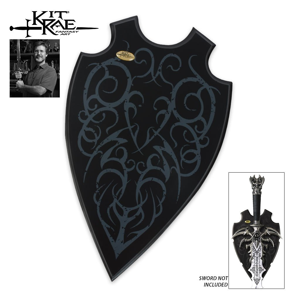 United Cutlery KR0062 Kit Rae Universal Sword Plaque by United Cutlery