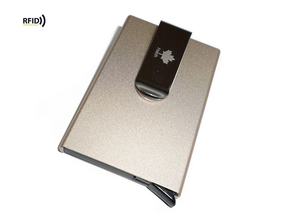 Business Card Cases BlackGray Artmi Credit Card Holder RFID Nylon Business Card Holder Wallet Smart Card Case