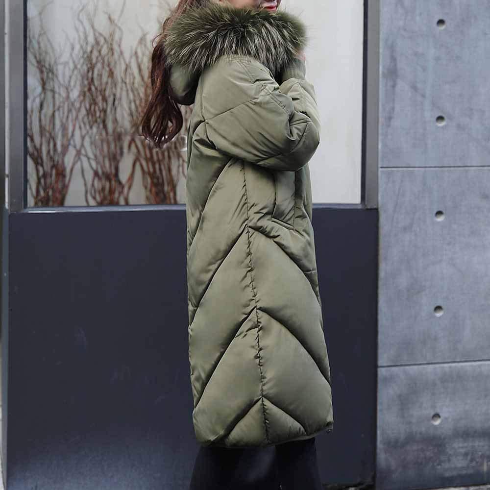 Parka neu Damen Herren Schlank coat Daunenjacke Lackleder Kapuzemantel Verdicken