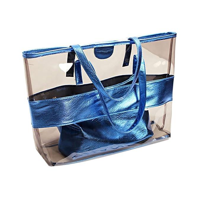 vende nueva productos vendible ViewHuge - Bolso de playa grande transparente con bolsillo ...