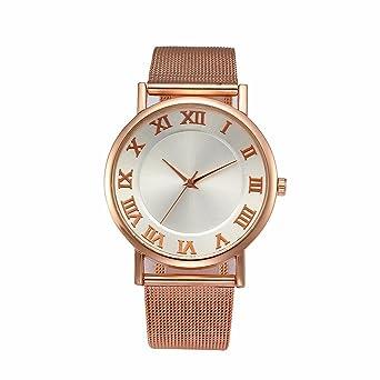 Amazon.com: Reloj de cuarzo analógico de la mujer, odgear ...