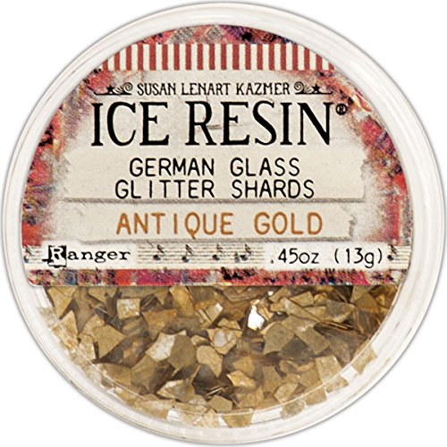 ICE Resin® Glass Glitter Shards - Antique -
