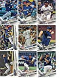 Milwaukee Brewers / Complete 2017 Topps Series 1 & 2 Baseball Team Set. FREE 2016 TOPPS BREWERS TEAM SET WITH PURCHASE!