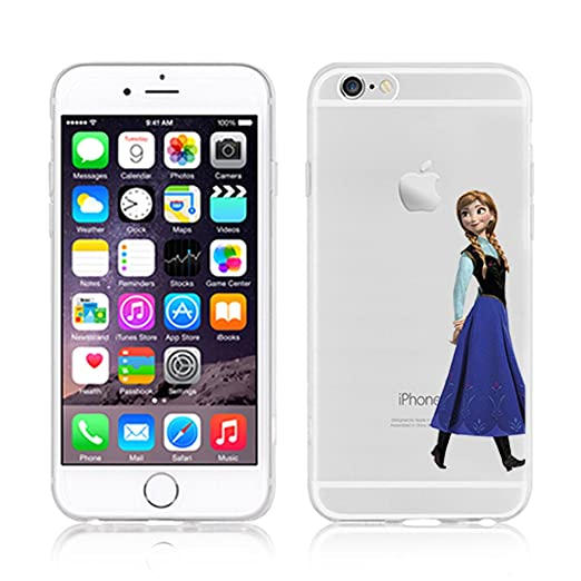 307 opinioni per Disney PRINCESS transparente in poliuretano termoplastico per iPhone-Cover per