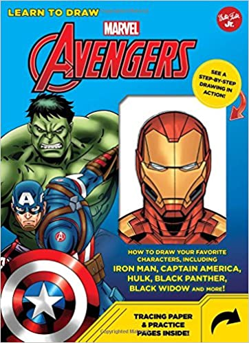 Learn To Draw Marvel Avengers How To Draw Your Favorite Characters