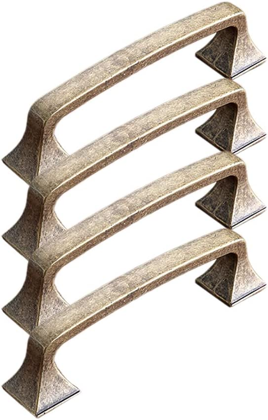 KTENME - Pomo para puerta (aleación de zinc, diseño vintage, 1 unidad), color marrón, Brown 3, 114 * 31mm: Amazon.es: Bricolaje y herramientas
