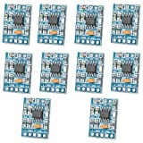 Optimus Electric 10pcs Mini Audio Power Amplifier Module HXJ8002 Chip with Low Audio Signal Distortion from