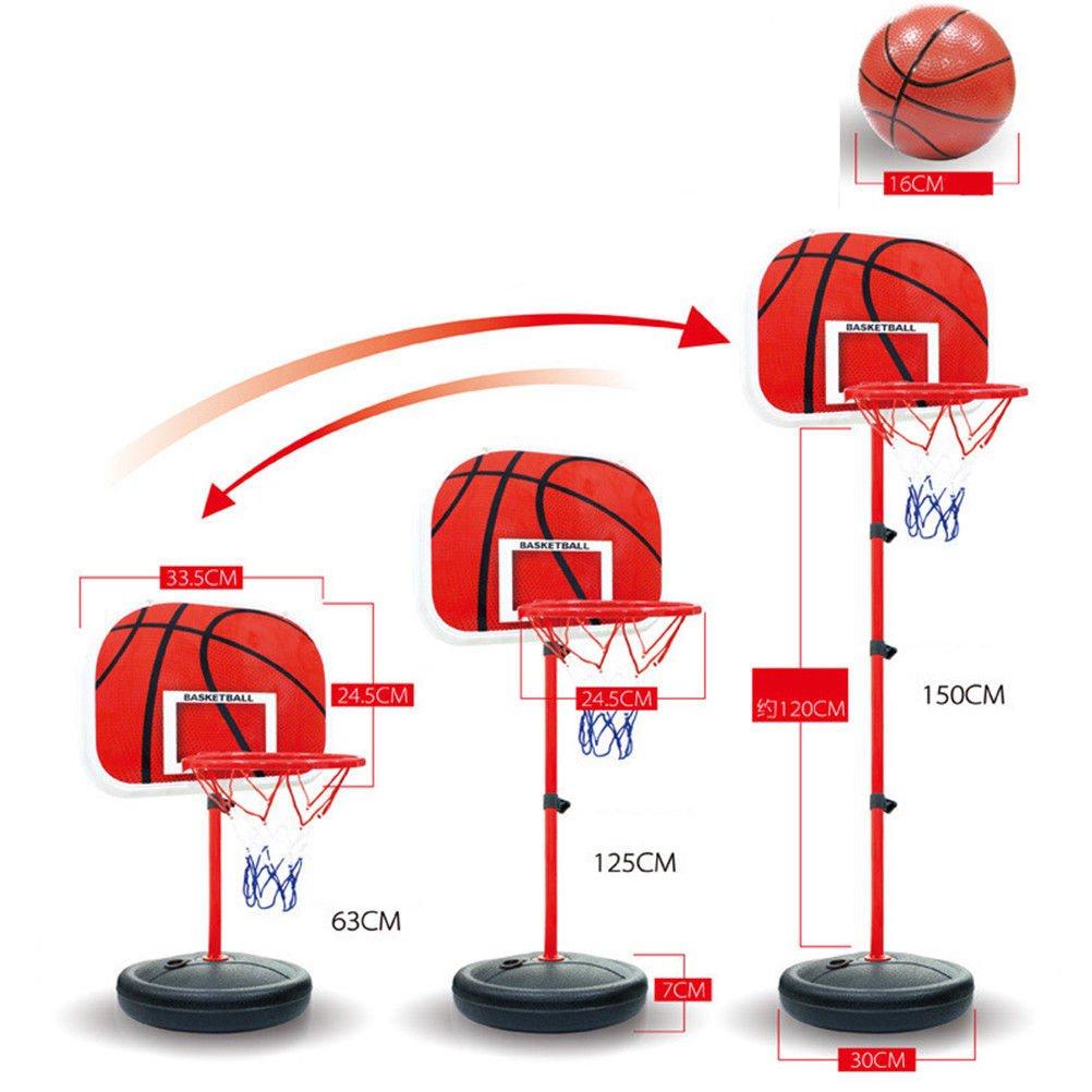 Amazon.com: Mini juego de red de aros de baloncesto para ...