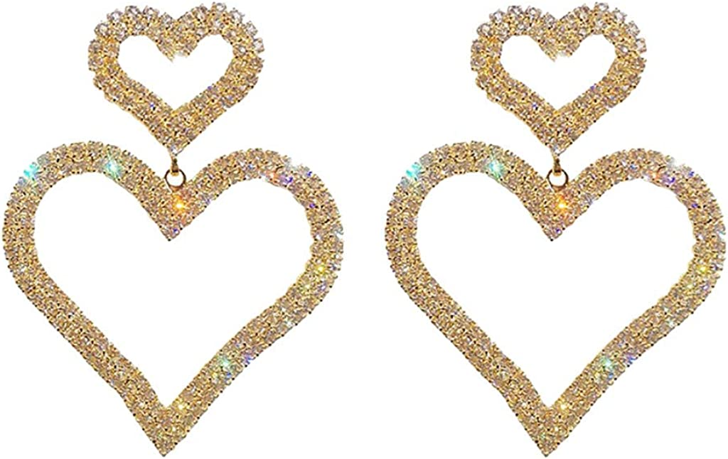 XBKPLO Heart Earrings...
