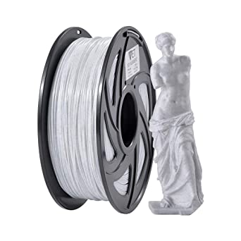 Filamento de mármol ET PLA 1,75 mm, filamento de impresión 3D PLA ...