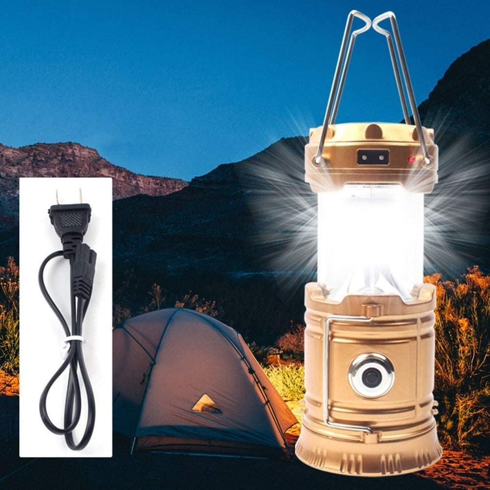 NEW COB LED Technology Portable Collapsible Camping Lantern Flashlights BOEHNER LED Camping Lantern Battery Powered Water Resistant Lantern for Hurricanes Hiking Emergencies 2 Pack