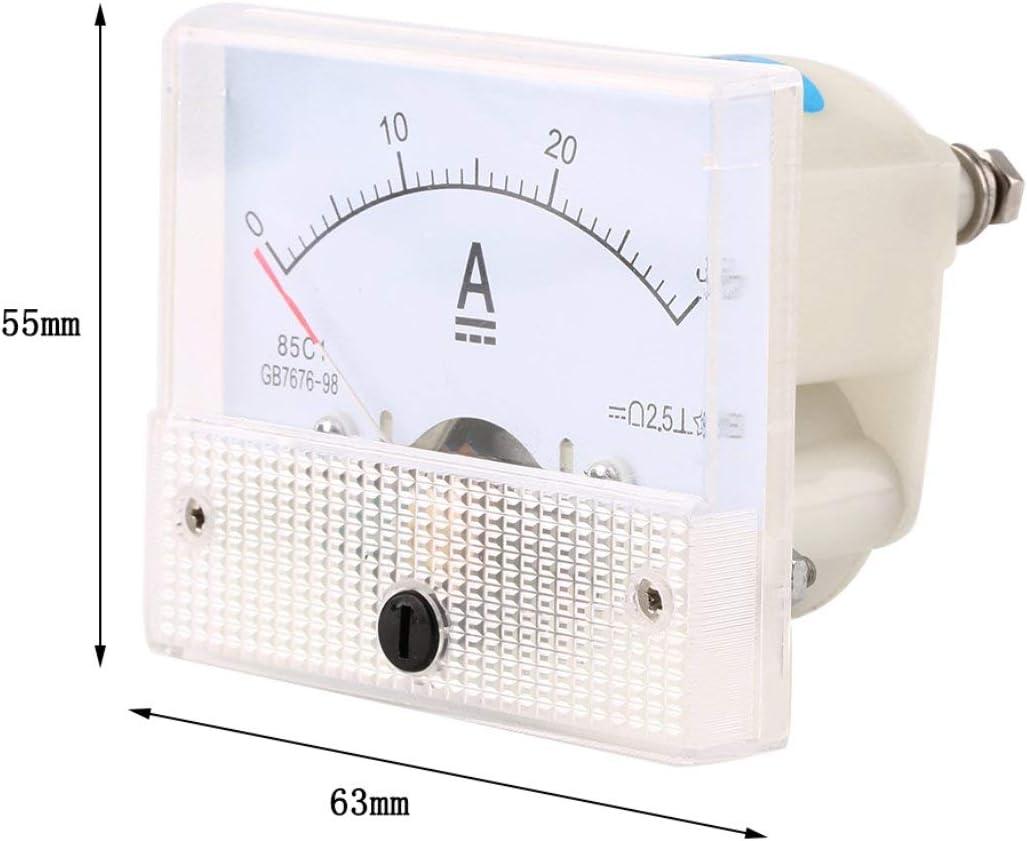 TOOGOO 85C1 Analogique Courant metre de panneau DC 30A AMP Amperemetre R