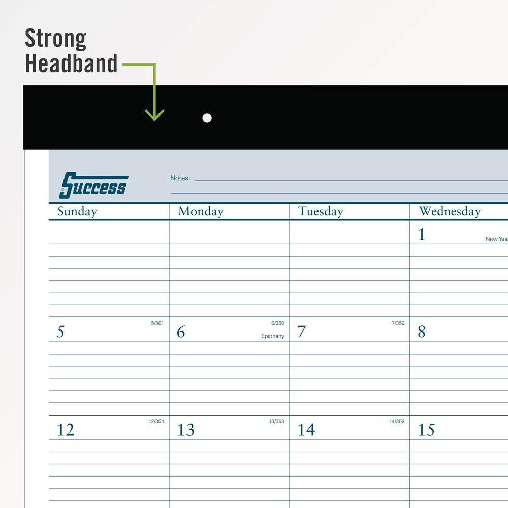 AT-A-GLANCE 2020 Desk Calendar Desk Pad Standard 21-3//4 x 17 ST2400
