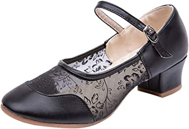 Joocare Women Lady Tango Ballroom Latin Salsa Waltz Modern Square Dance Shoes