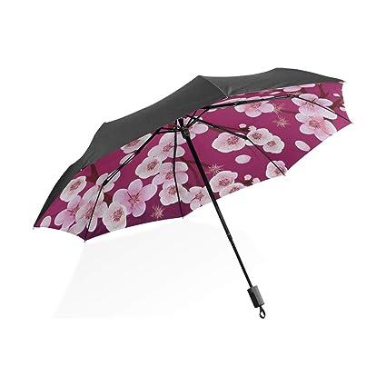 Paraguas invertido para niños Kawaii Japonesa Hermosa Sakura ...