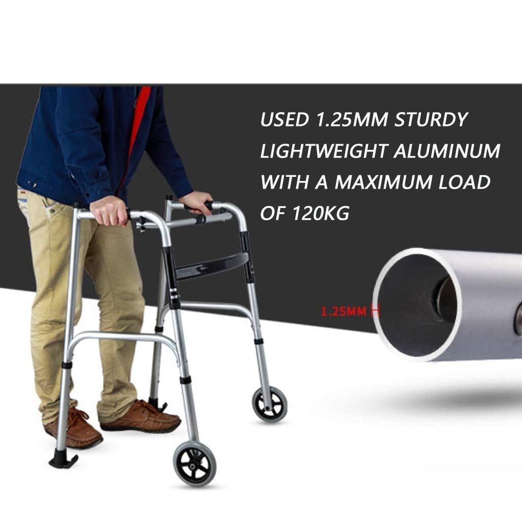 Amazon.com: YUNSHINE - Billetero para ancianos con asiento y ...
