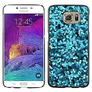 Paccase / SLIM PC / Aliminium Casa Carcasa Funda Case Cover para - Flowers Abstract Sea Surf Dive - Samsung Galaxy S6 SM-G920