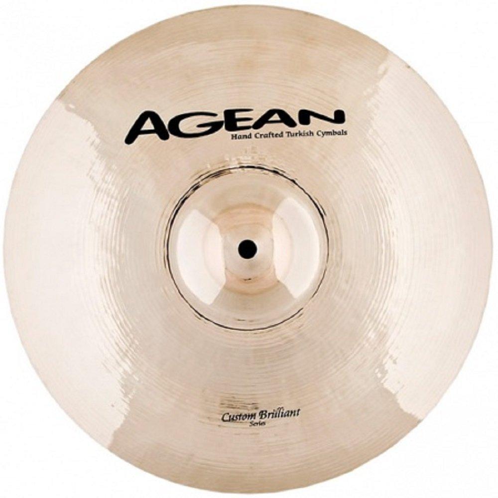 Agean Cymbals 16-inch Brilliant Crash / Ride by Agean Cymbals