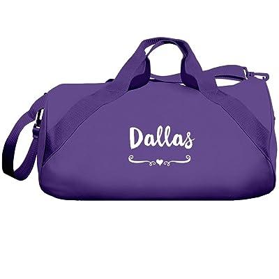 Dallas Dance Team Bag: Liberty Barrel Duffel Bag