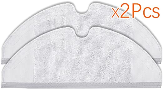 louu 2 unidades S50 S51 Robo Rock fregona paños para Xiaomi Vacuum ...