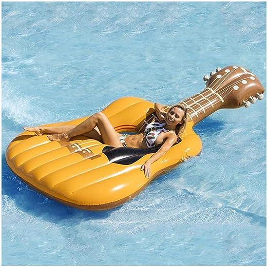 NHMPP Colchonetas Piscina Flotadores Gigantes Flotador Colchoneta Hinchable Hinchables para Gigante Playa, ViolíN Anillo De NatacióN Guitarra Montaje Instrumento: Amazon.es: Hogar