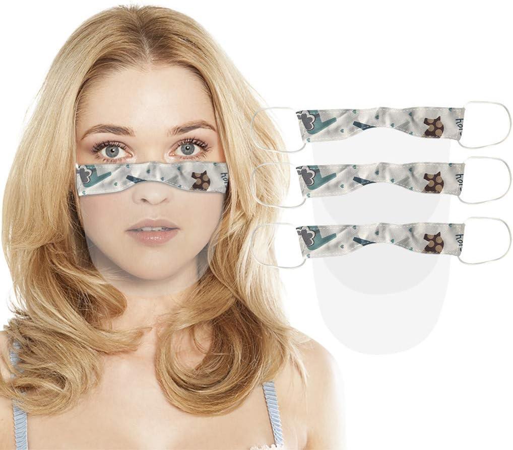 Universales Gesichtsvisier f/ür Erwachsene Mundschutz in Transparent Visier zum Schutz vor Fl/üssigkeiten eiuEQIU Safety Gesichtsschutz aus Kunststoff