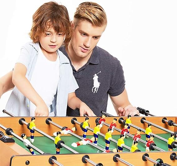 XLOO Mesa de futbolín 8 en 1, fútbol/Curling/Tenis de Mesa/ajedrez ...