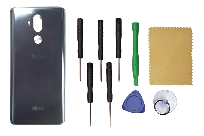 89f9f9b513b Image Unavailable. Image not available for. Color: OEM Back Glass Cover  Battery Door Replacement for LG ...