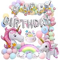 MMTX Unicornio Fiesta Decoración para mujer niña cumpleaños