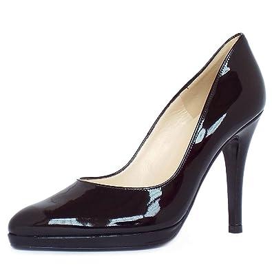 75f117302703ae Peter Kaiser Herdi stiletto court shoes in black patent  Amazon.co ...