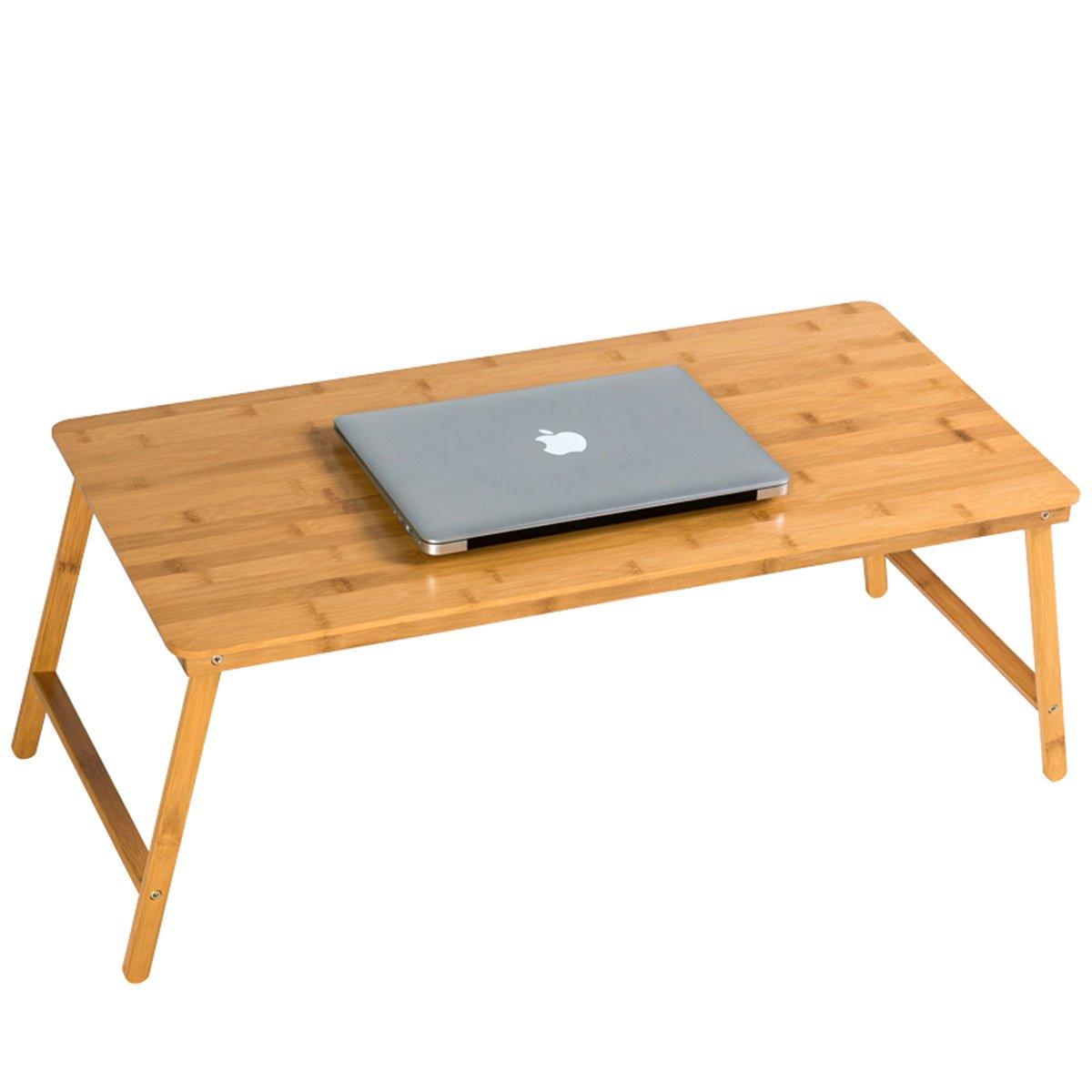 Bett Schreibtisch groß Größe Holz leicht Laptop Stand – zusammenklappbar einfach zu verstauen