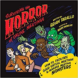 Cover of Surviving the Horror of Online Meetings