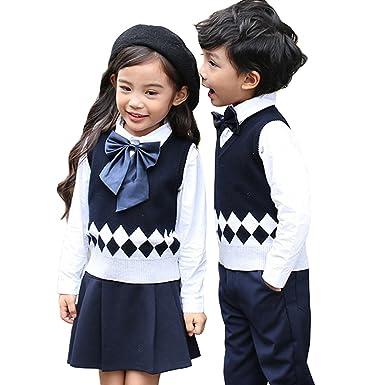 1187eda8e8c78 Amazon.co.jp: 卒業式 スーツ 男の子 セーター ベスト vネック セーター ...