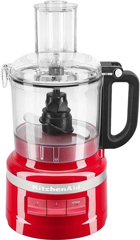 KitchenAid 5KFP0719EER - Robot de cocina (1,7 L, Rojo, Botones, 0,914 m, China, De plástico): Amazon.es: Hogar