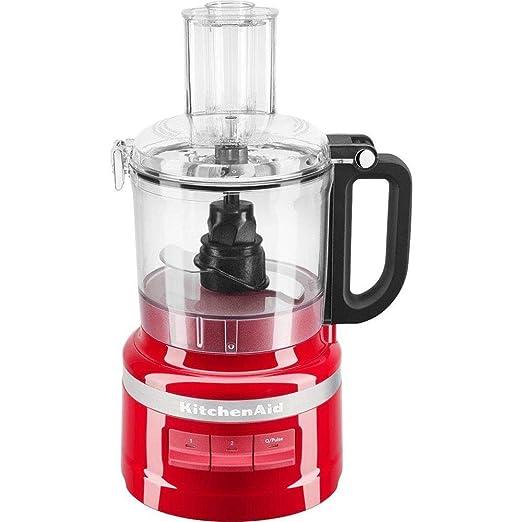 KitchenAid 5KFP0719EER - Robot de cocina (1,7 L, Rojo, Botones ...