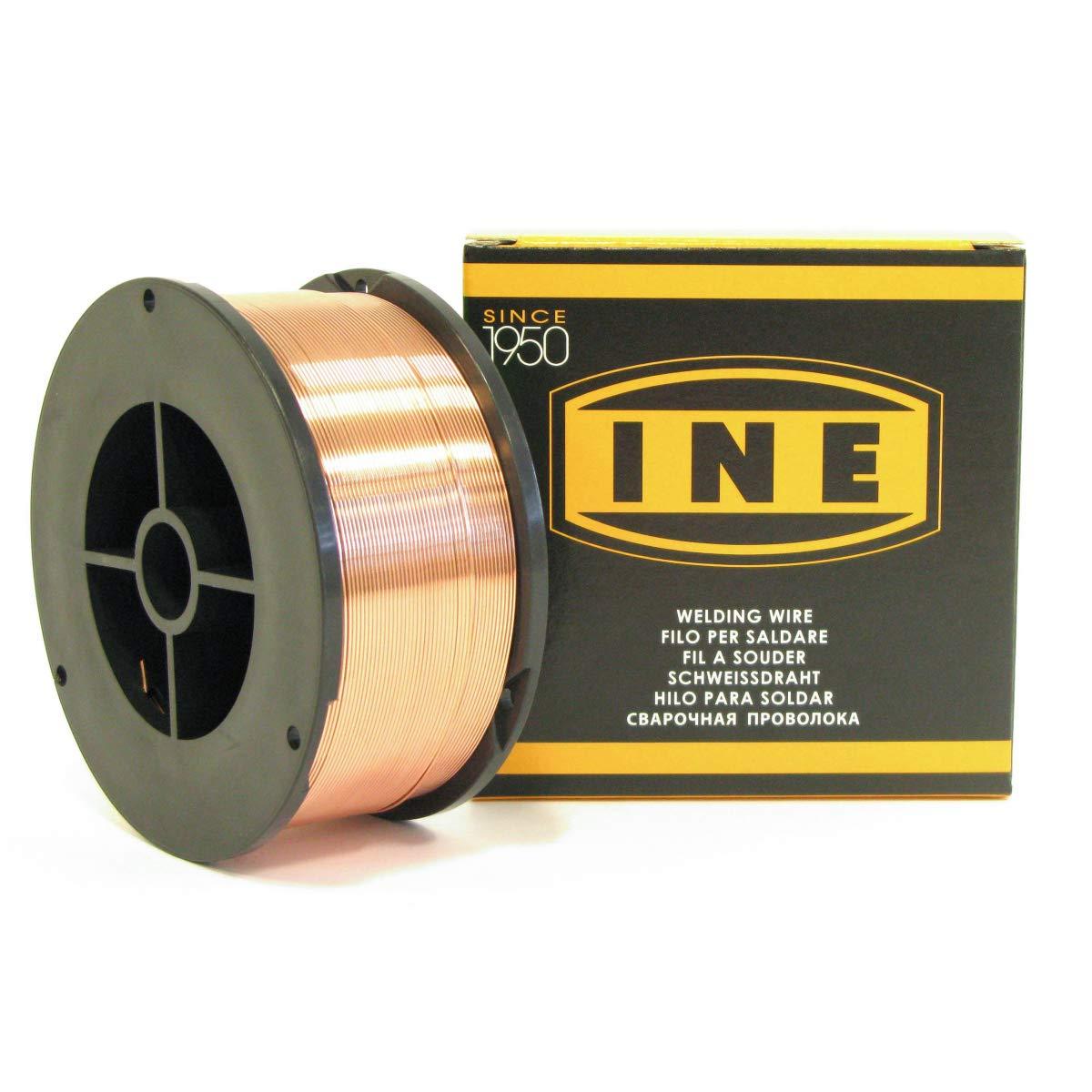Fil à souder acier 0.8mm - 700g -soudage MIG-MAG semi-automatique-en bobine de fil de soudure-Fil acier non fourré