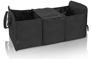 Amazon.es: eyepower Bolsa para Maletero del Coche 60x32x29cm con heladera plegable Negro