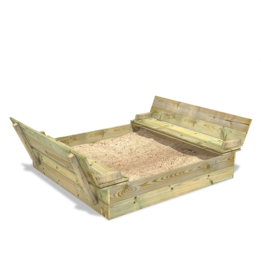 Wickey Sandkasten Flippey Sandkasten Holz