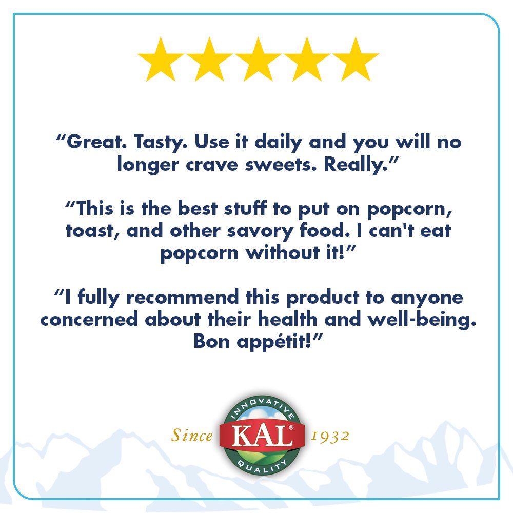 Kal Nutritional Yeast Flakes Vitamin B12 Vegan Non Energen Oatmilk Mixbry10scx24g Gmo Gluten Free Unsweetened Great Flavor No Bitter Aftertaste For Cooking