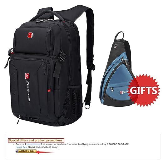 14 opinioni per Soarpop 15 pollici Laptop Backpack,