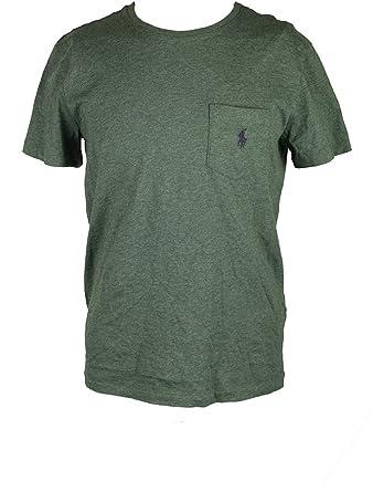 Polo Ralph Lauren Hombre Classic Fit bolsillo camiseta - Verde ...