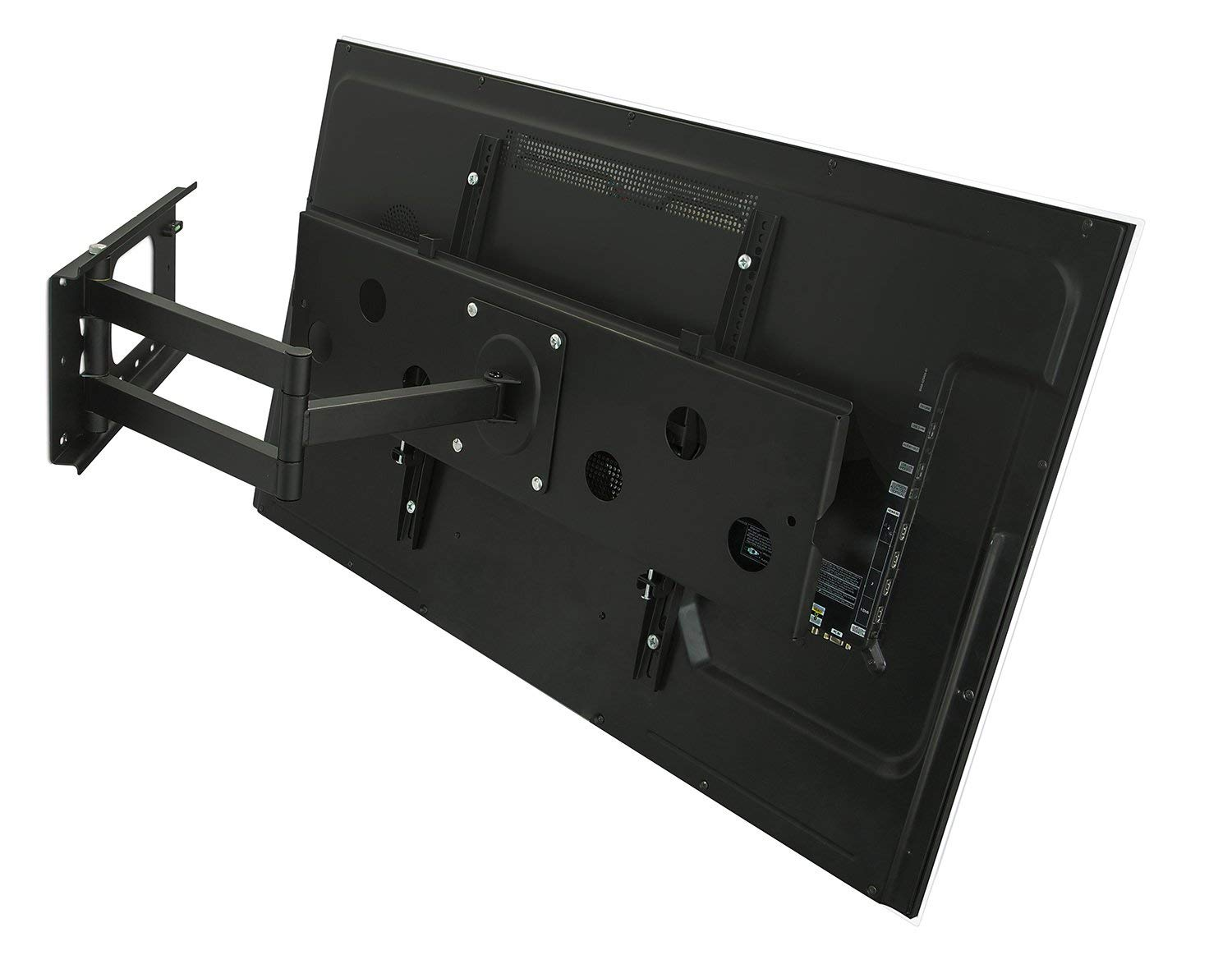 Mount-It! Long Arm TV Wall Mount With 26 Inch Extension, Swing Out Full Motion Design for Corner Installation, Fits 40 50, 55, 60, 65, 70 Inch Flat Screen TVs, 220 Pound Capacity by Everstone (Image #3)