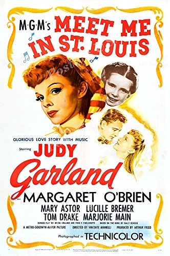 Posters USA Meet Me In St. Louis Original Movie Poster GLOSSY FINISH - FIL718 (24