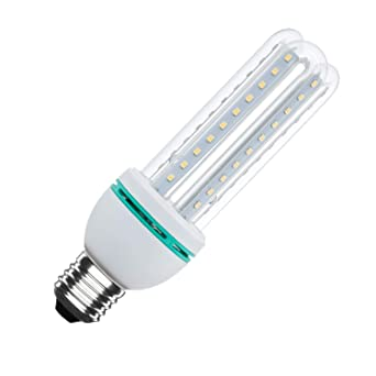 Bombilla LED CFL E27 12W Blanco Neutro 4500K efectoLED
