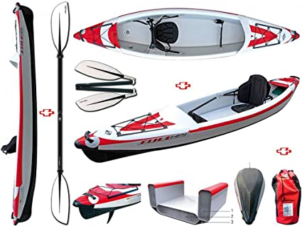BIC Sport - Canoa hinchable YakkAir Full HP 1 One 101497 + ...