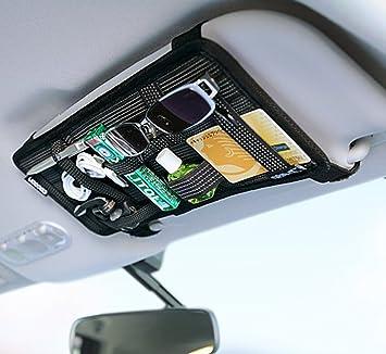 Ladekabel Aufbewahrung moon moonlove auto sonnenschutz visier elastic organizer board