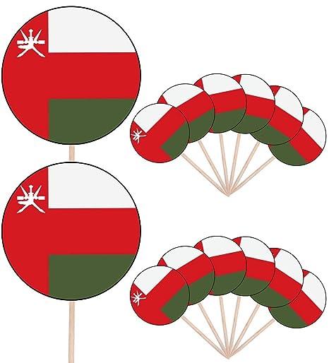 Bandera de Senegal - 24 comestible cupcake toppers/adornos ...