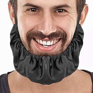 Beard Bandana, Richoose facial beard apron guard beard cap - protects beard 2pcs
